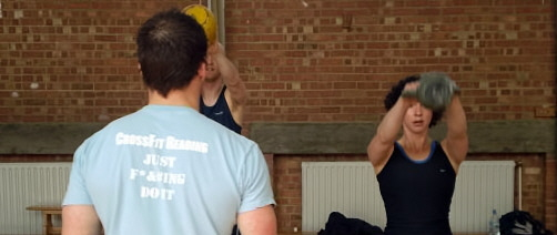 Crossfit Reading kettlebell workshop