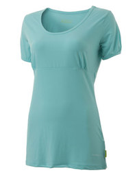 Blue scoop tee from Pure Lime on simplysweat.com