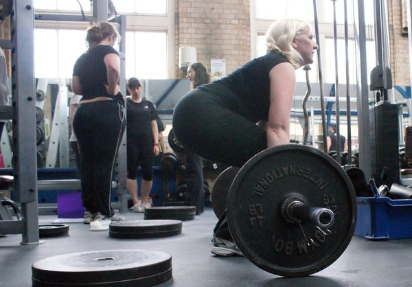Ladies Who Lift beginners weight training course in London